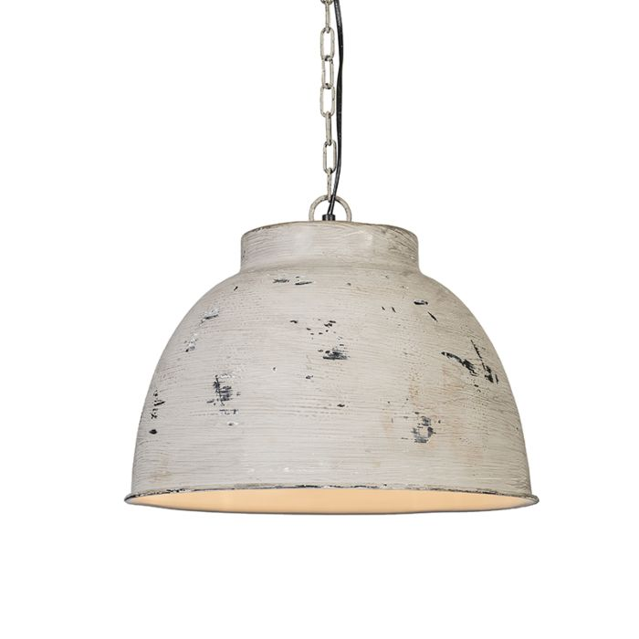 Lámpara-colgante-VINTAGE-L-gris-envejecido