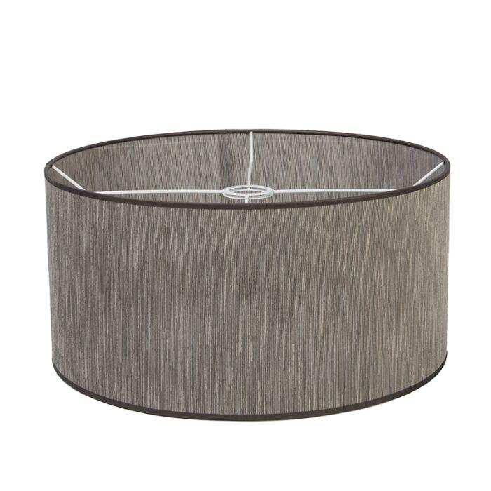 Pantalla-para-lámpara-colgante/-de-pie-/de-mesa-45/45/22-marrón