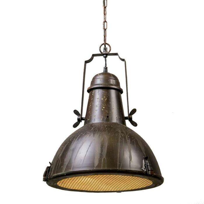 Lámpara-colgante-PETROL-I-rústica
