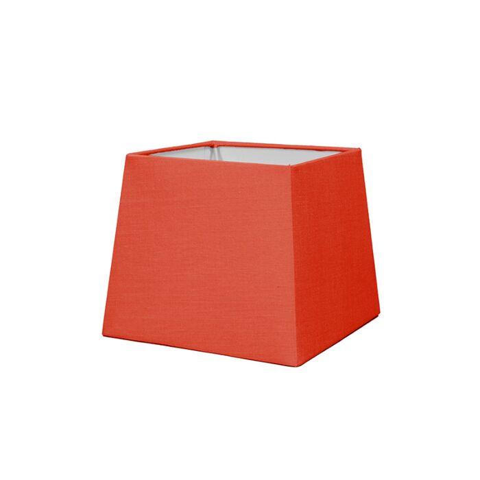 Pantalla-para-lámpara-mesa/aplique-18cm-piramidal-SD-E27-rojo