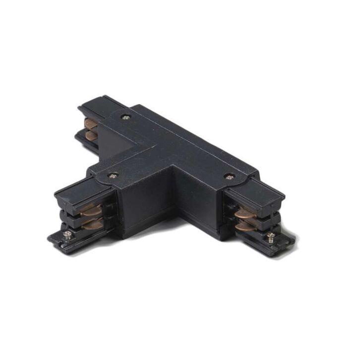Conector-T-trifásico-carril-izquierdo-negro