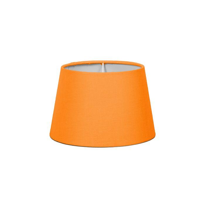 Pantalla-para-lámpara-mesa/aplique-18cm-cónica-SD-E27-naranja