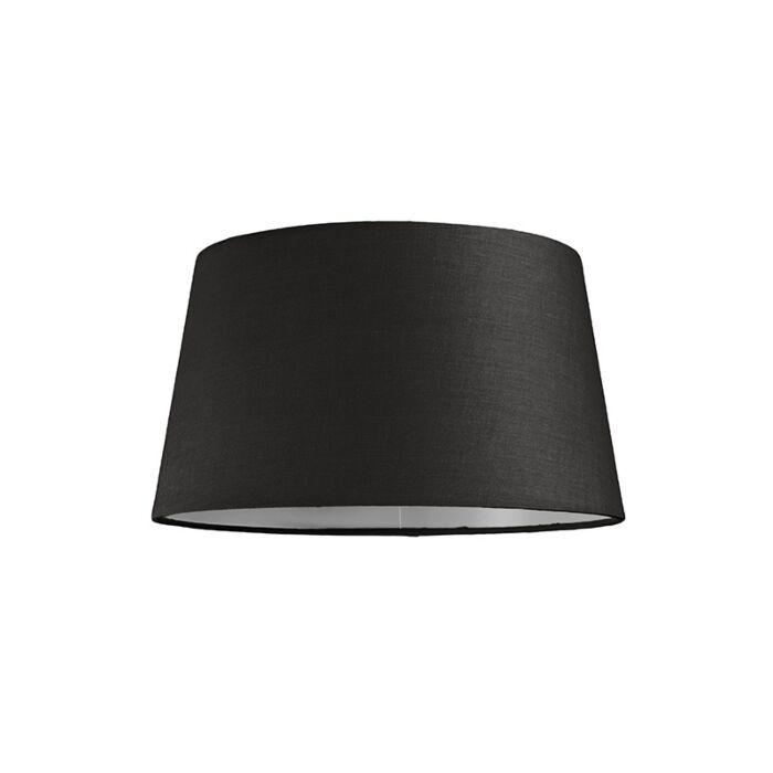 Pantalla-para-lámpara-colgante-30cm-cónica-SU-E27-negra