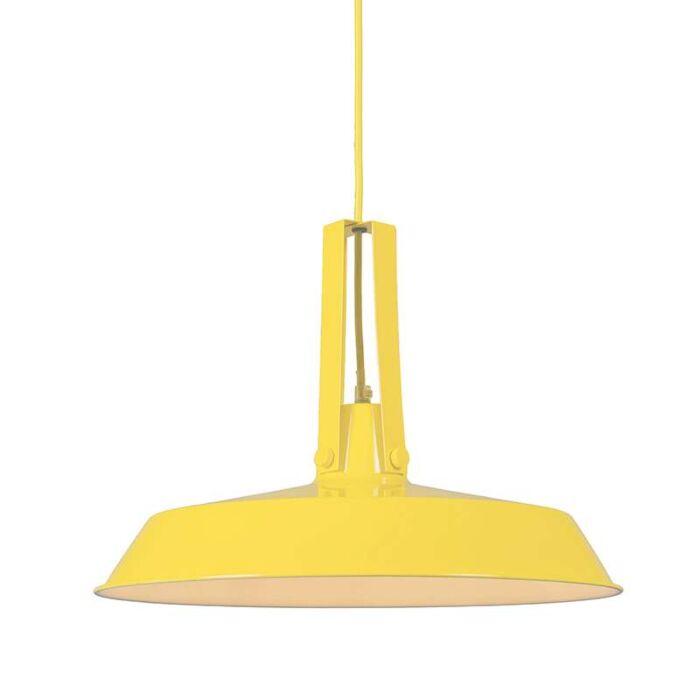 Lámpara-colgante-LIVING-40cm-amarilla