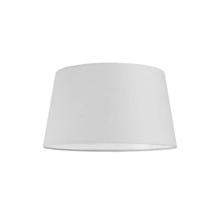 Pantalla-para-lámpara-colgante-30cm-cónica-SU-E27-blanca