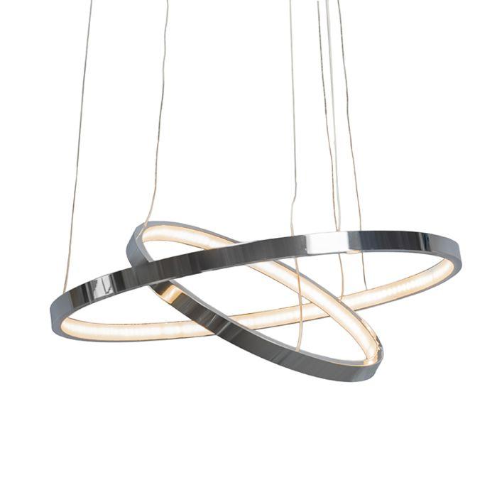 Lámpara-colgante-HALO-cromo