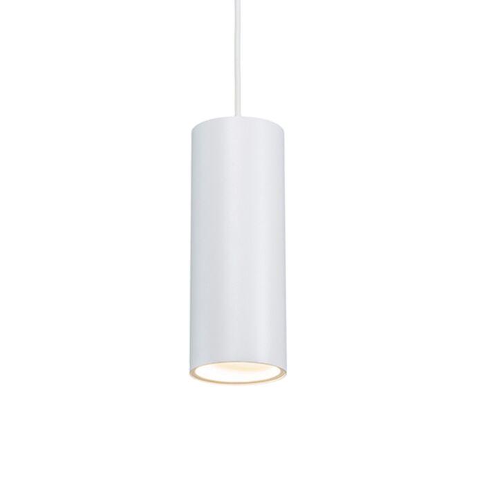 Lámpara-colgante-diseño-blanca---TUBO