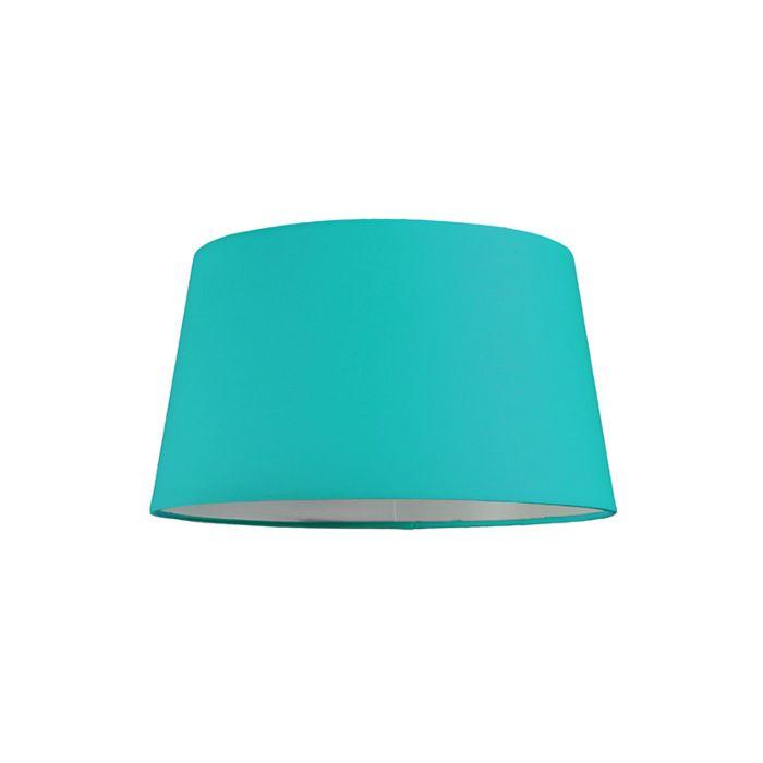 Pantalla-para-lámpara-colgante-30cm-cónica-SU-E27-turquesa
