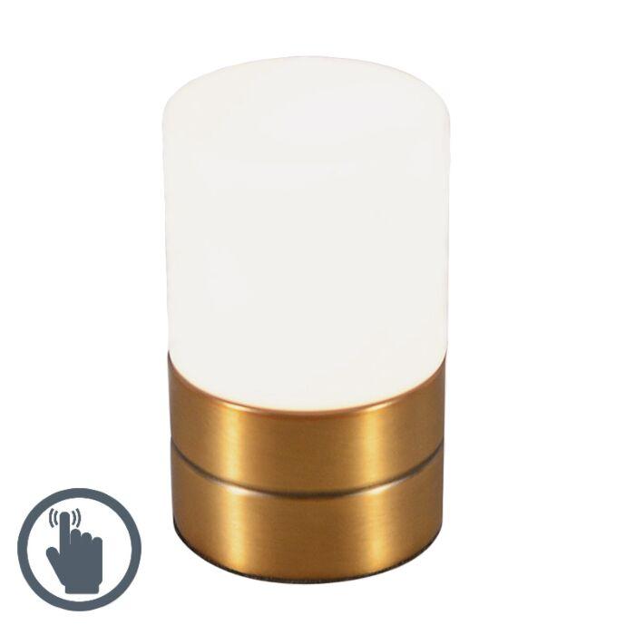 Lámpara-de-mesa-TOUCH-ME-bronce