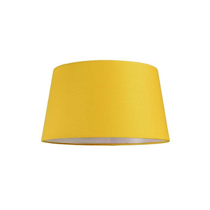 Pantalla-para-lámpara-colgante-30cm-cónica-SU-E27-amarilla