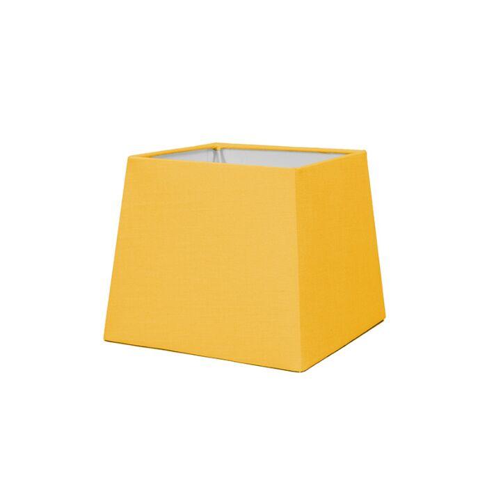 Pantalla-para-lámpara-mesa/aplique-18cm-piramidal-SD-E27-amarilla