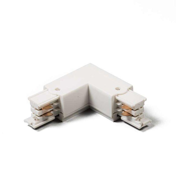 Unión-L-Izquierda-para-Riel-/-Carril-trifásico-blanco