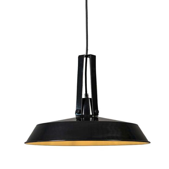 Lámpara-colgante-LIVING-40cm-negro