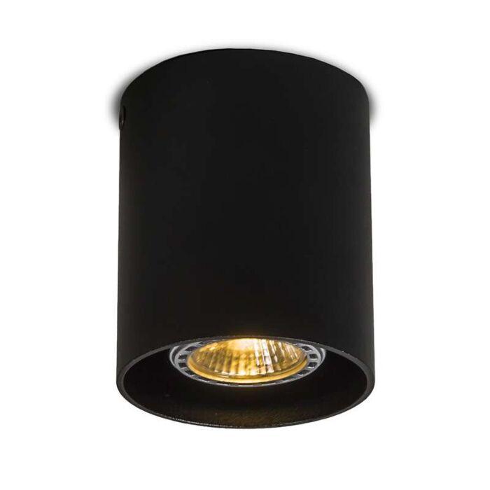 Foco-redondo-negro--TUBO-1