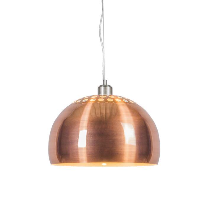 Lámpara-colgante-GLOBE-33cm-cobre-mate