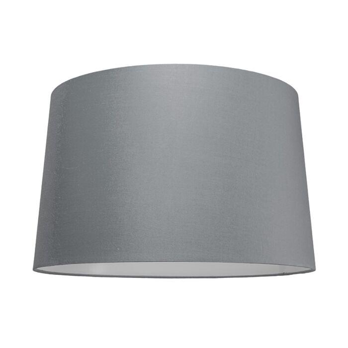 Pantalla-para-lámpara-colgante-50cm-cónica-SU-E27-gris