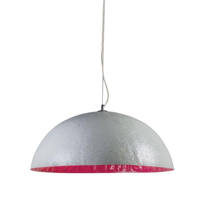 Lámpara-colgante-MAGNA-70-gris-rosa
