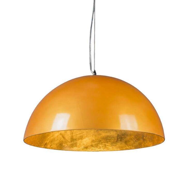 Lámpara-colgante-MAGNA-Glossy-55cm-oro-y-oro