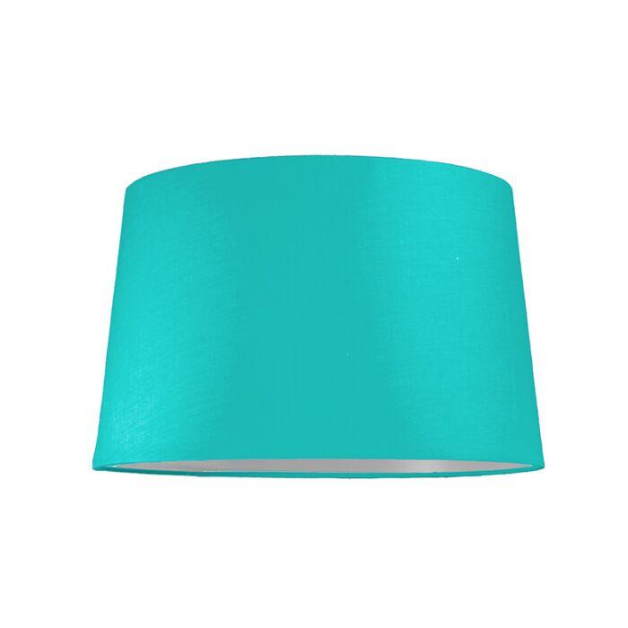 Pantalla-para-lámpara-colgante-40cm-cónica-SU-E27-turquesa