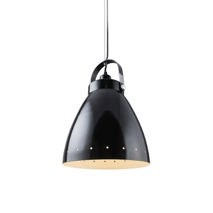 Lámpara-colgante-nóridca-negra-orientable---RYTEL