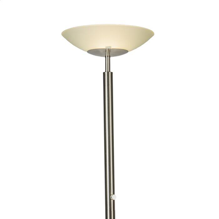 Lámpara-de-pie-PISA-acero