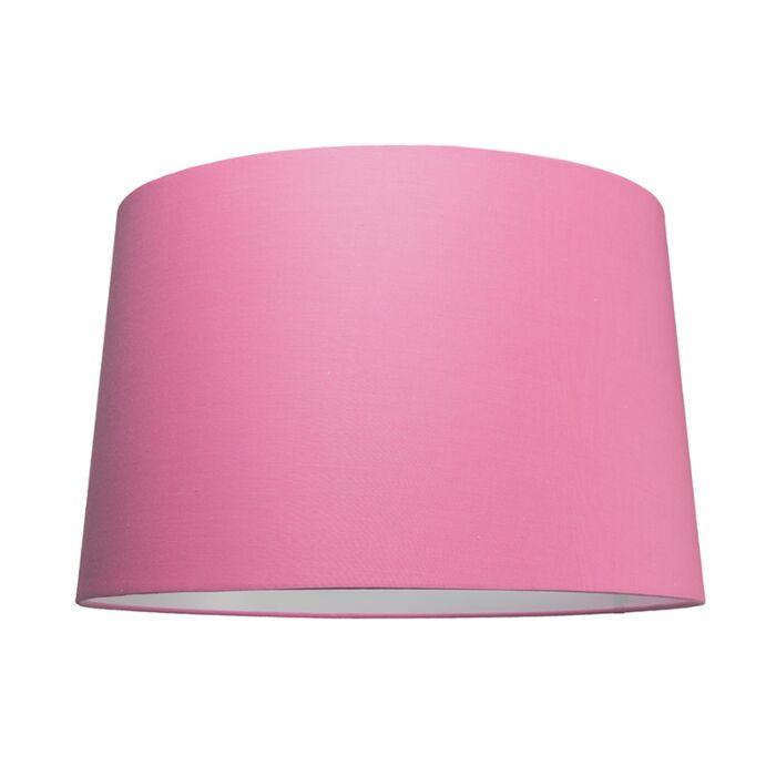Pantalla-para-lámpara-colgante-50cm-cónica-SU-E27-rosa