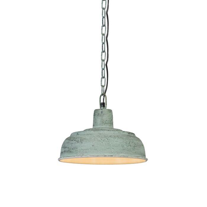 Lámpara-colgante-BARUN-26-verde-envejecido