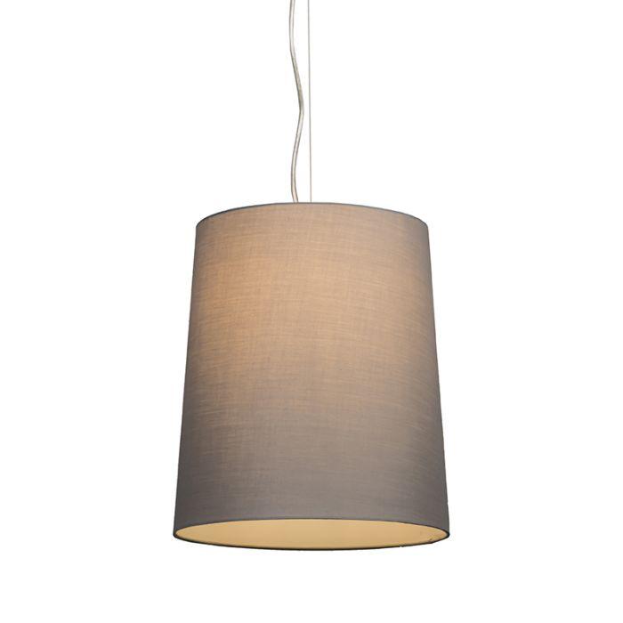 Lámpara-colgante-CAPPO-1-con-pantalla-gris