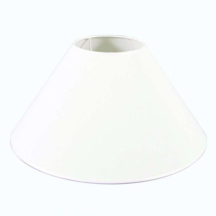 Pantalla-cónica-para-lámpara-de-pie/-mesa-50/17/25-blanco