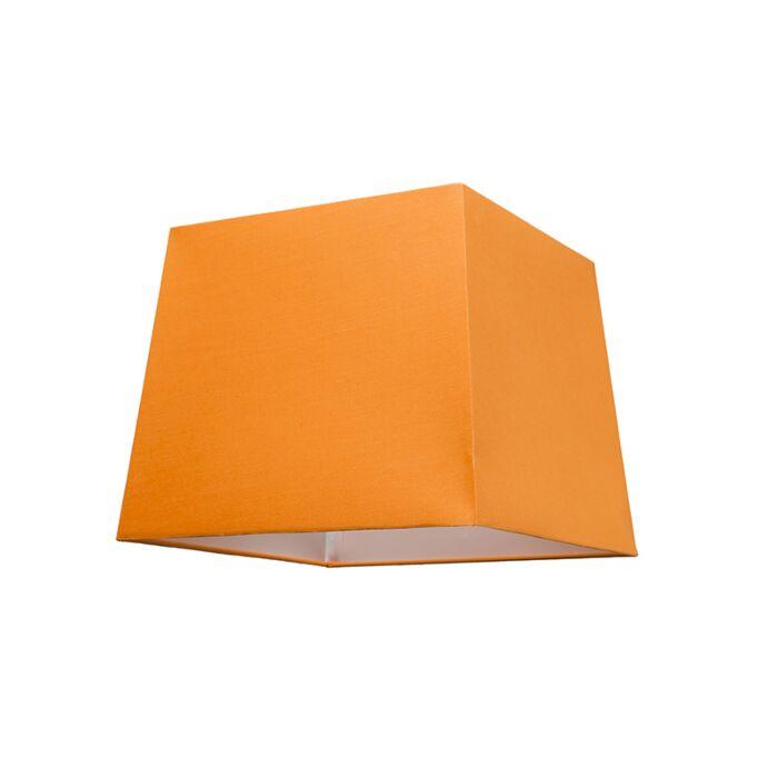 Pantalla-para-lámpara-colgante-30cm-piramidal-SU-E27-naranja