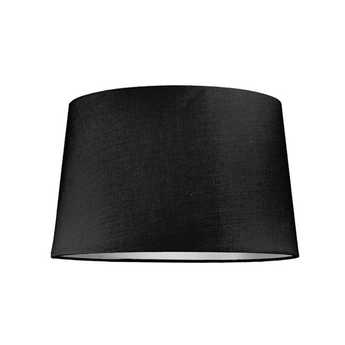 Pantalla-para-lámpara-colgante-40cm-cónica-SU-E27-negra