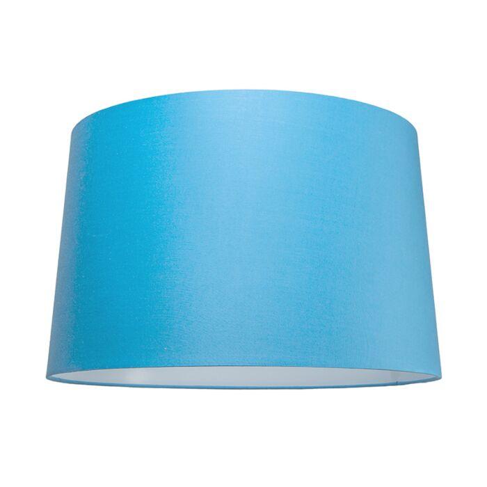 Pantalla-para-lámpara-colgante-50cm-cónica-SU-E27-azul-claro