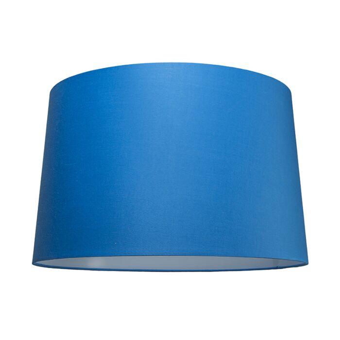 Pantalla-para-lámpara-colgante-50cm-cónica-SU-E27-azul