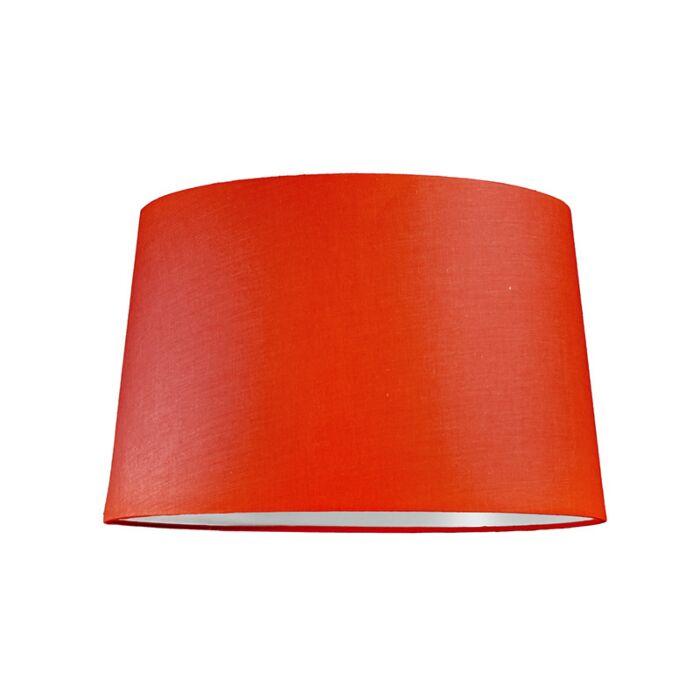Pantalla-para-lámpara-colgante-40cm-cónica-SU-E27-roja