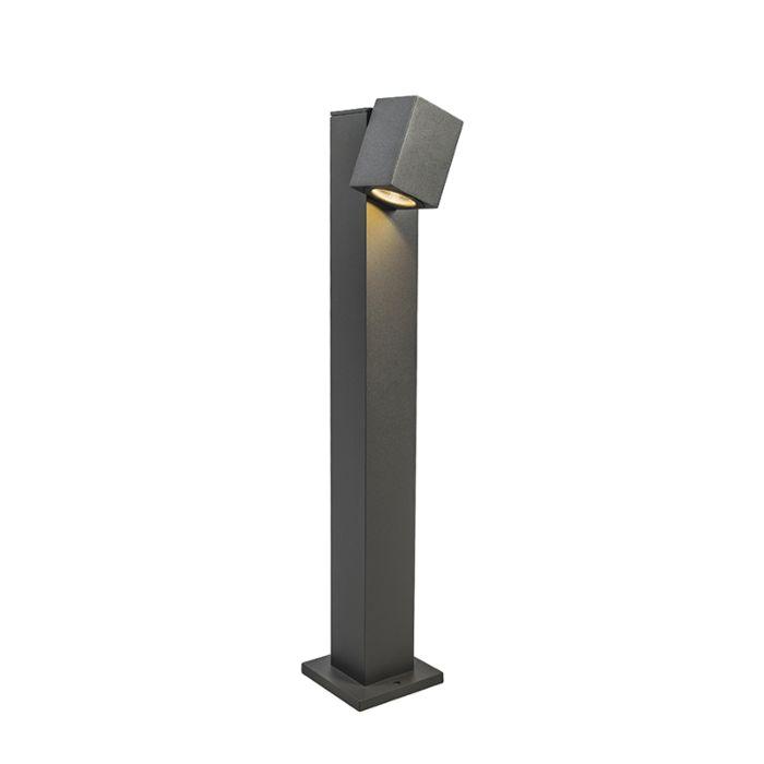 Baliza-BALENO-65cm-ajustable-gris-oscuro-IP44