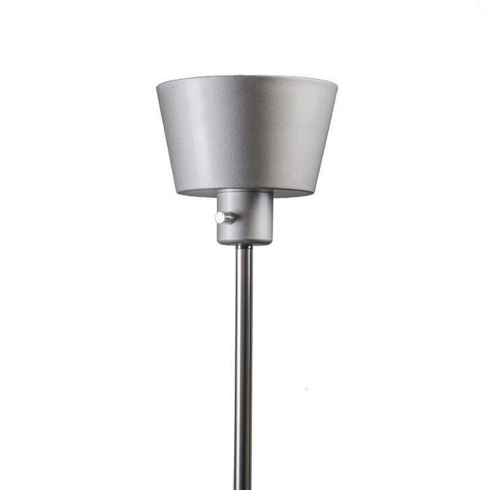 Lámpara-de-pie-PROSTY-LED-gris-plata