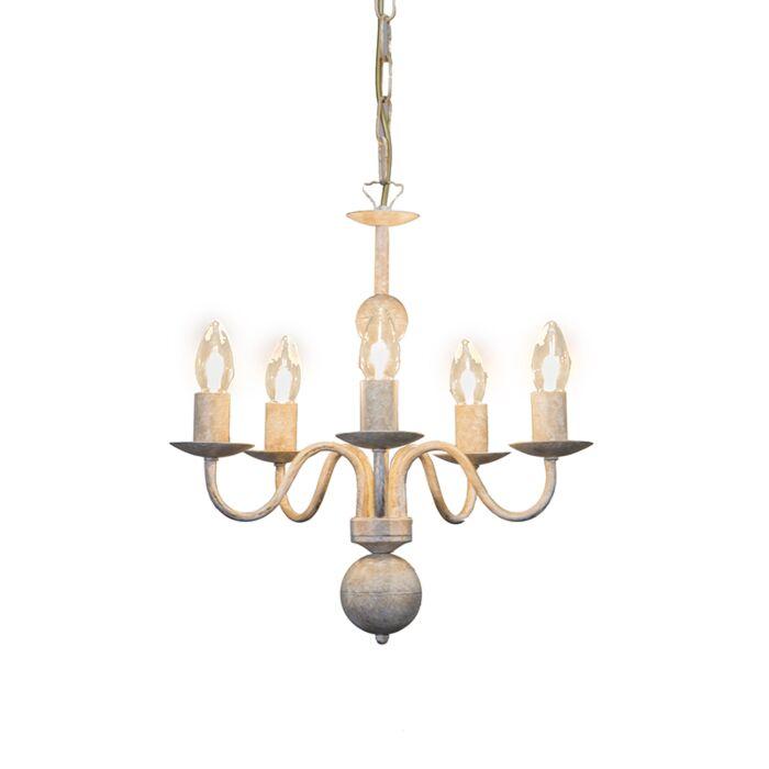 Lámpara-de-araña-ROMANO-5-color-visón