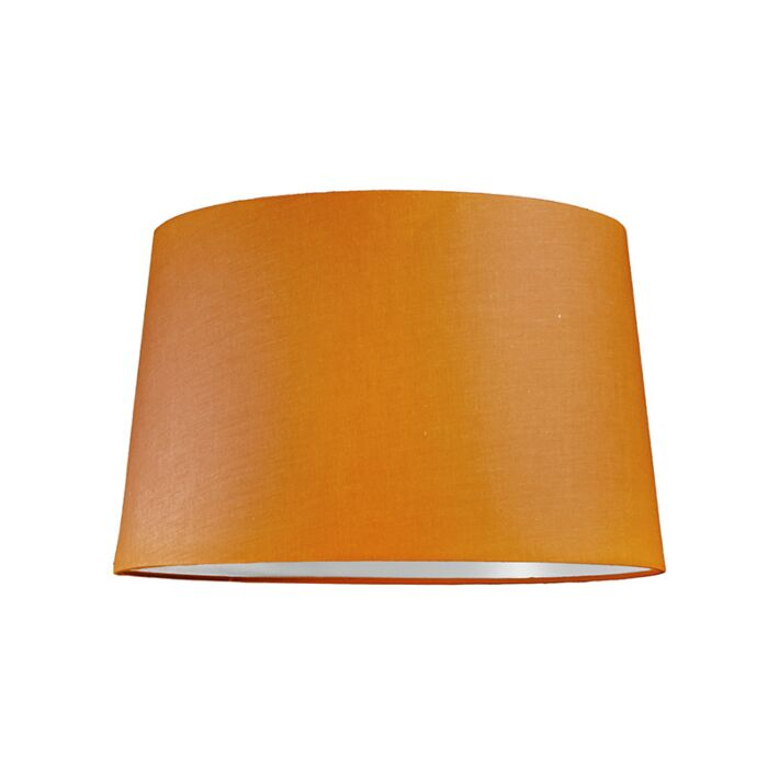 Pantalla-para-lámpara-colgante-40cm-cónica-SU-E27-naranja