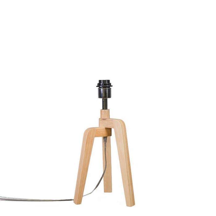 Lámpara-de-mesa-PUROS-madera-sin-pantalla