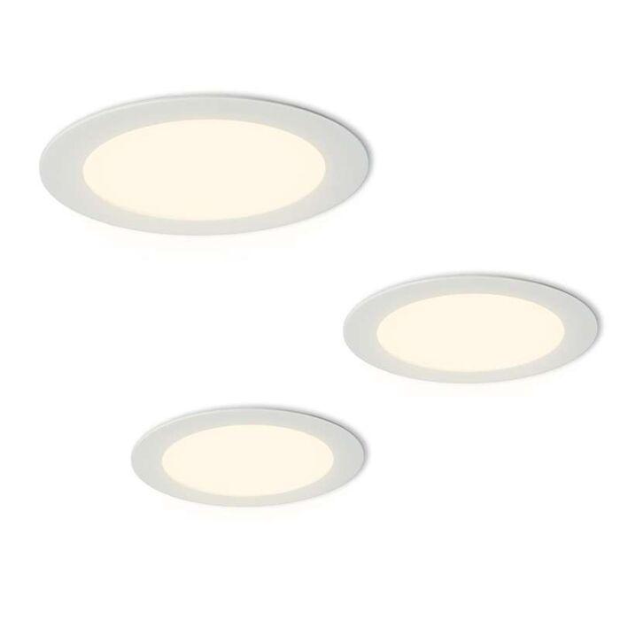 Juego-de-3-focos-LED-RADEM-blanco