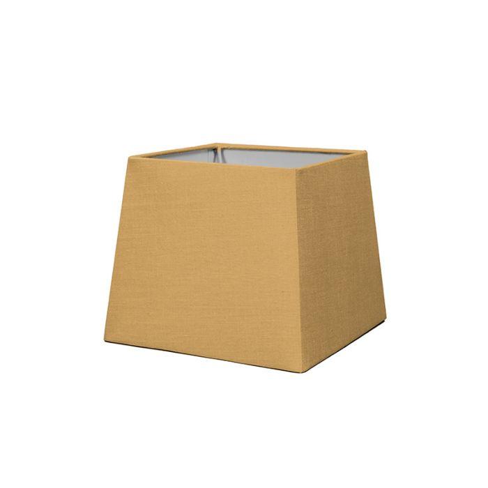 Pantalla-para-lámpara-mesa/aplique-18cm-piramidal-SD-E27-beige