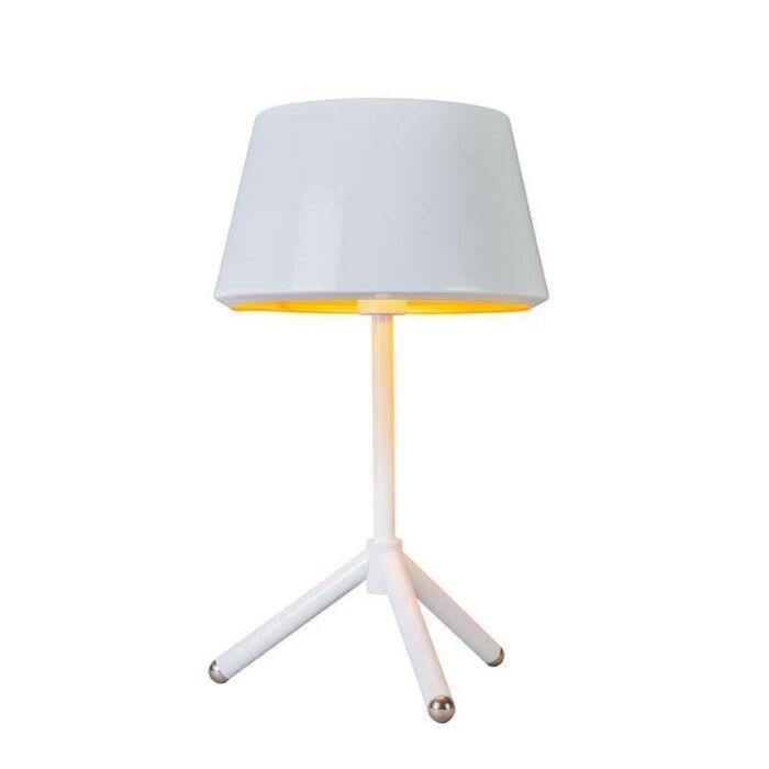 Lámpara-de-mesa-VEGAS-blanco-y-oro