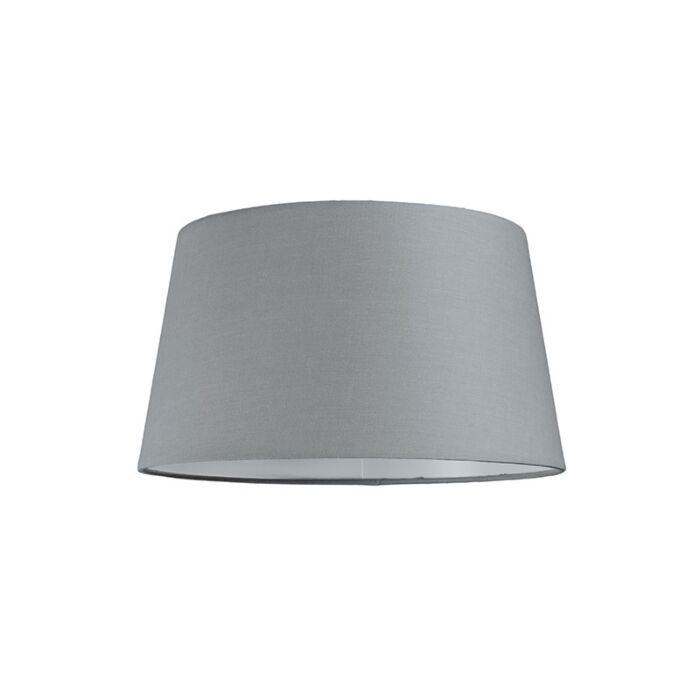 Pantalla-para-lámpara-colgante-30cm-cónica-SU-E27-gris