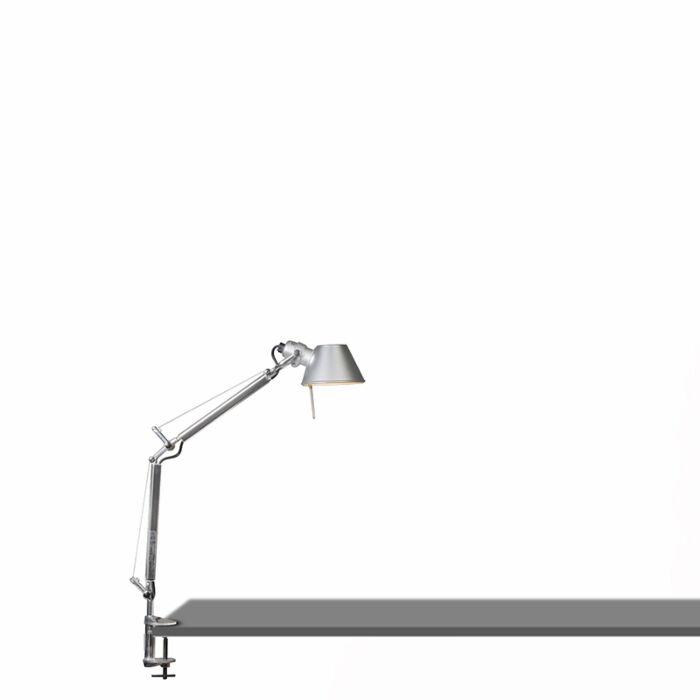 Lámpara-de-mesa-ajustable---ARTEMIDE-Tolomeo-tavolo-micro-clamp