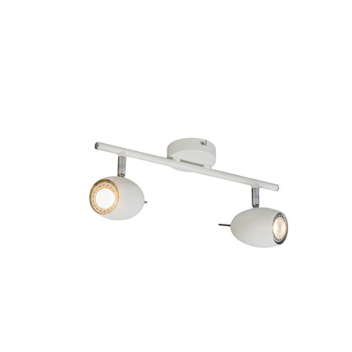 Plafón-diseño-orientable-blanco---EGG-2