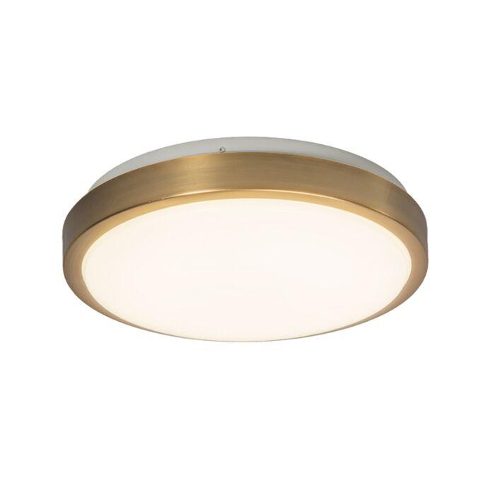 Plafón-AVANT-12W-LED-dorado-mate