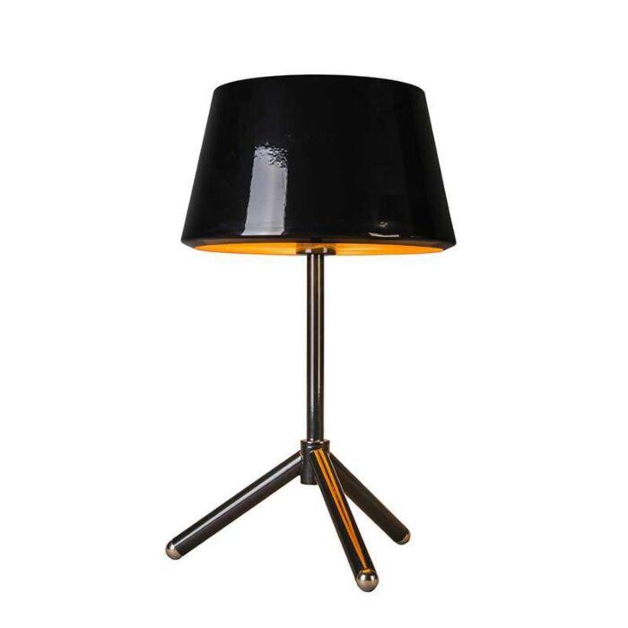Lámpara-de-mesa-VEGAS-negro-y-oro
