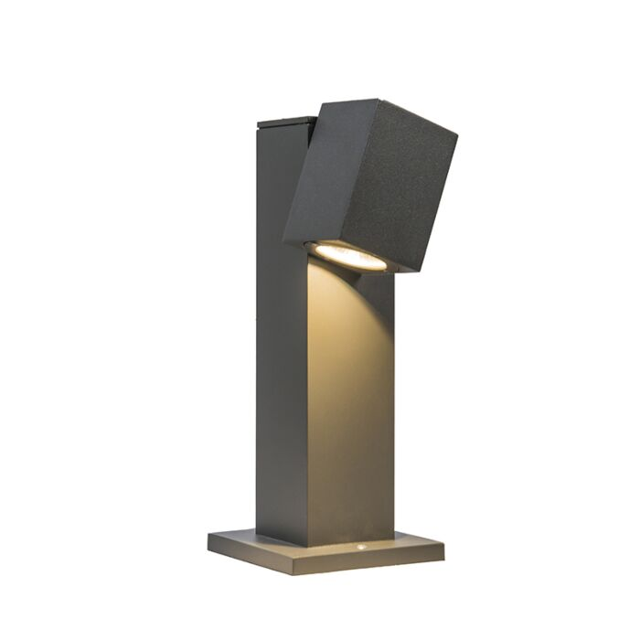 Baliza-BALENO-30cm-ajustable-gris-oscuro