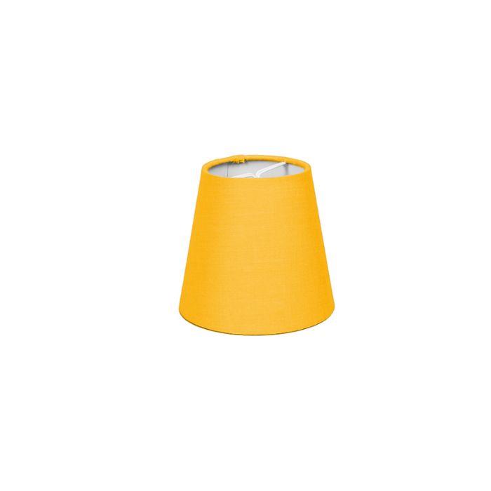 Pantalla-de-gancho-12cm-cónica-SC-amarilla