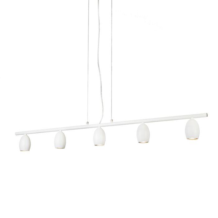 Lámpara-colgante-EGG-5-blanco